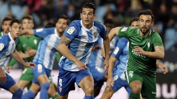 Málaga 1-1 Sporting: Reparto de puntos en La Rosaleda
