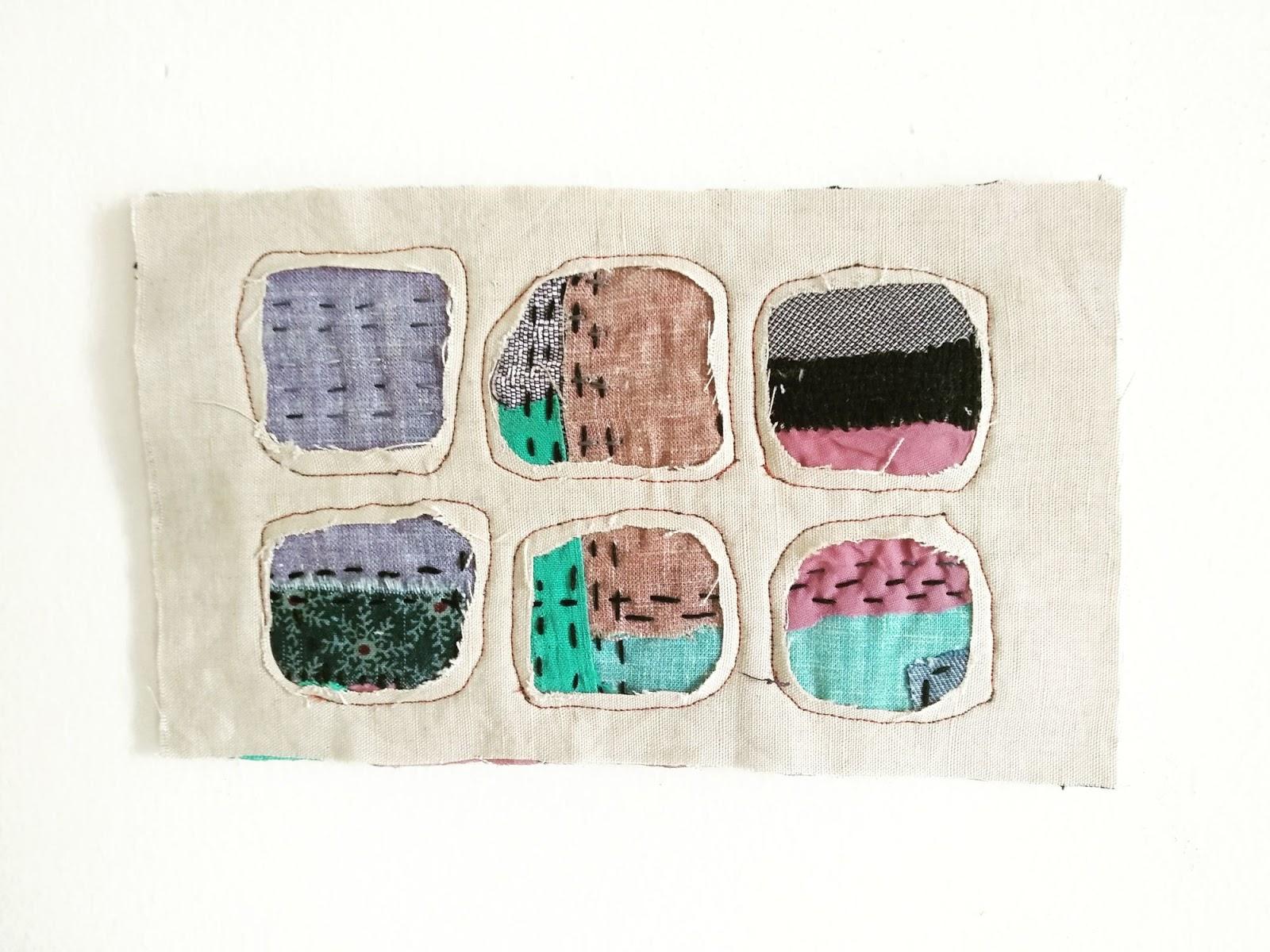 Interpreting Mending - A Series of Postcards Part 2