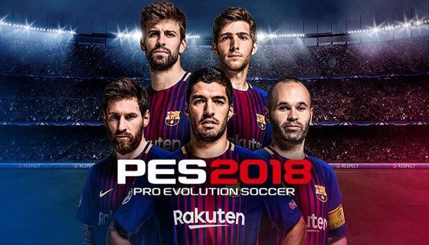 تحميل لعبة pes 2018 pro مهكرة آخر إصدار مجاناً وبرابط مباشر + فتح جميع الأندية | لعبة pes 2018 مهكرة