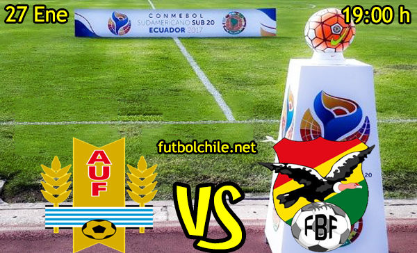 Ver stream hd youtube facebook movil android ios iphone table ipad windows mac linux resultado en vivo, online: Uruguay vs Bolivia