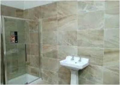 Bathroom floor porcelain tiles are beautiful and attractive