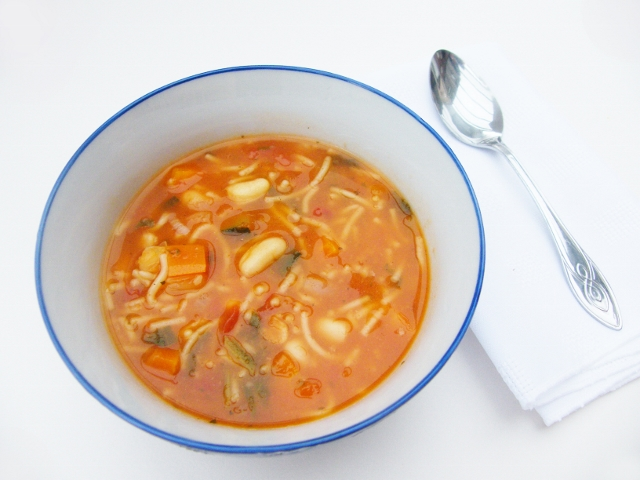 5:2 Diet - Minestrone Soup