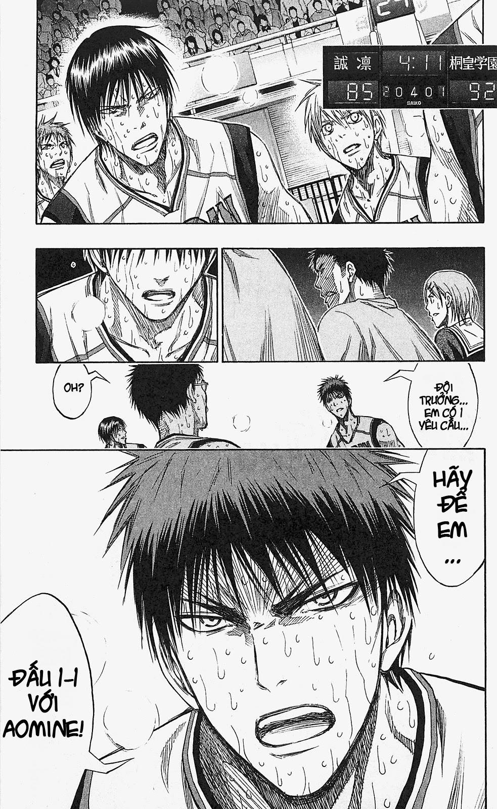 Kuroko No Basket chap 134 trang 19