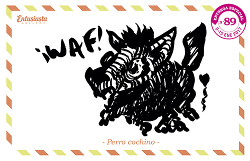 Dibujo en tinta. Dibujante / illustrator : Jésica Cichero
