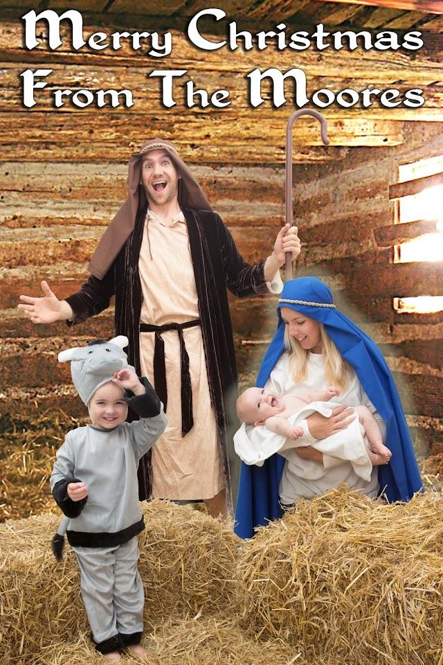 Cheesy Christmas Family