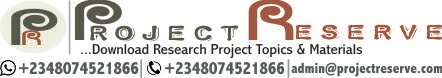 Project Topics and Materials | Download Free Research Projects