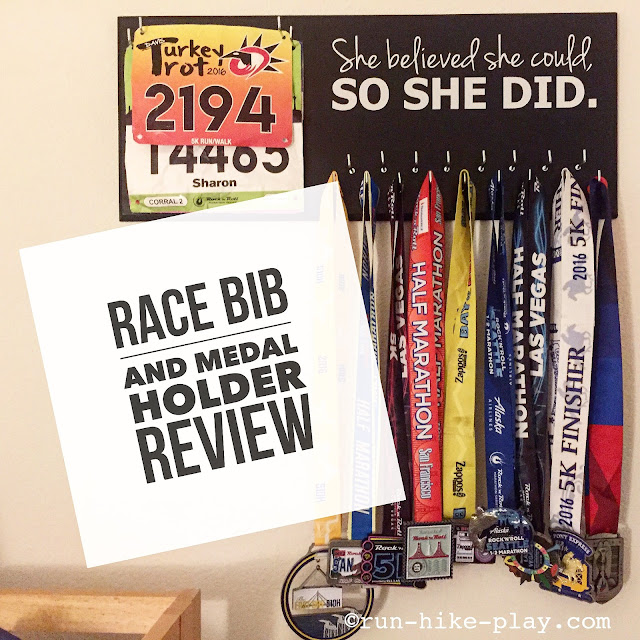 Running on the Wall Race Bib and Medal Holder Review