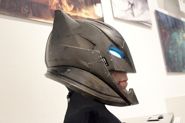Posible casco de Batman en Justice League