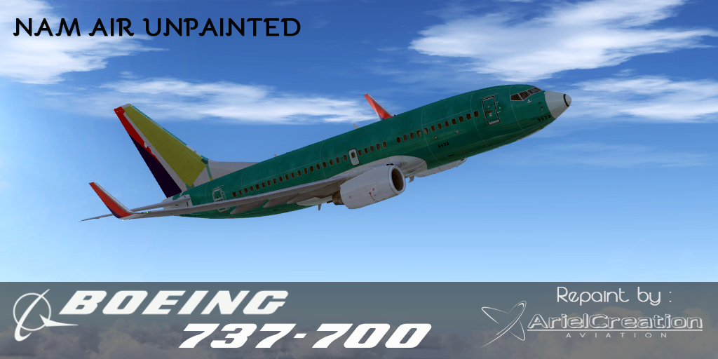 PMDG 737-700/800/900NGX Sriwijaya Air Livery FSX - Ariel Creation