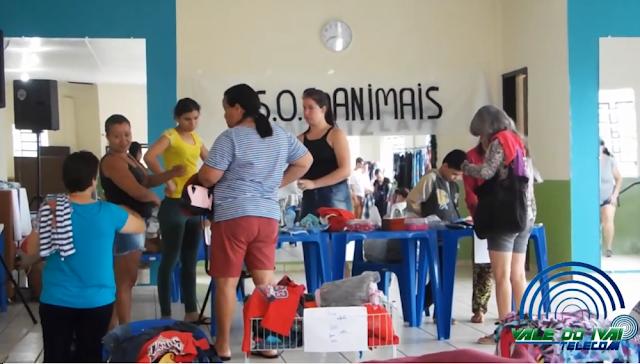 Bazar do S.OS Animais continua neste domingo