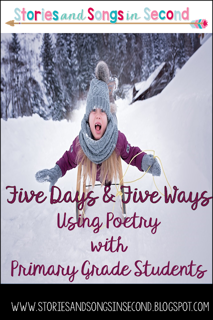 Find time to rhyme and build reading fluency skills at the same time with five ways to use poetry with primary grade students.