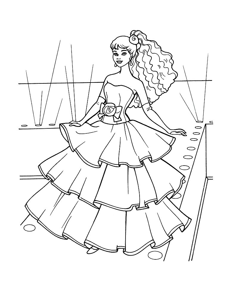barbie coloring pages. Black Bedroom Furniture Sets. Home Design Ideas