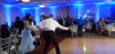 ΜΗ ΣΟΥ ΤΥΧΕΙ! Γαμπρός βγάζει νοκ αουτ τη νύφη στον γαμήλιο χορό