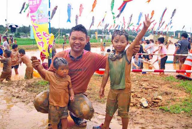children, festival, Golden Week, people