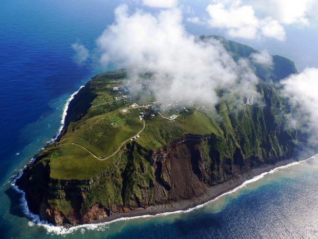 Live Inside an Active Volcano on Aogashima Island