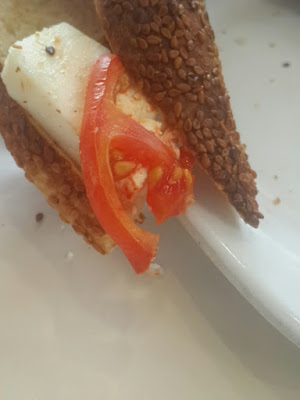 Simit Sarayı Bayat simit Sandviç
