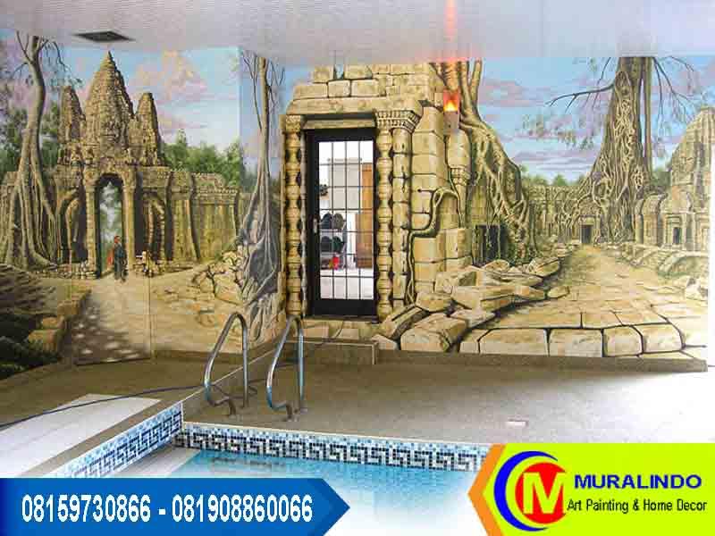 Mural lukisan dinding lukisan tembok jasa lukis for Mural untuk cafe