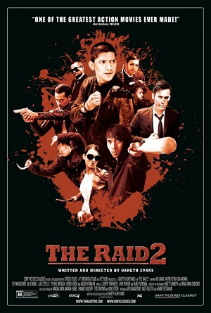 The Raid 2 Berandal 2014 Dual Audio Hindi 720p BluRay 1.2GB