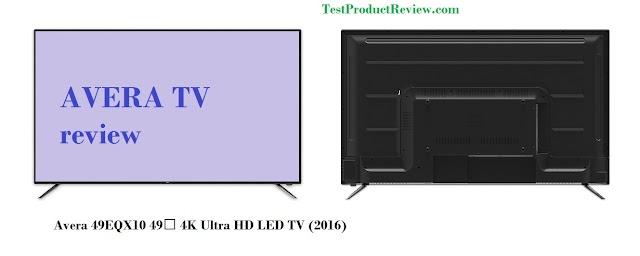 Avera 49EQX10 49″ 4K Ultra HD LED TV (2016)