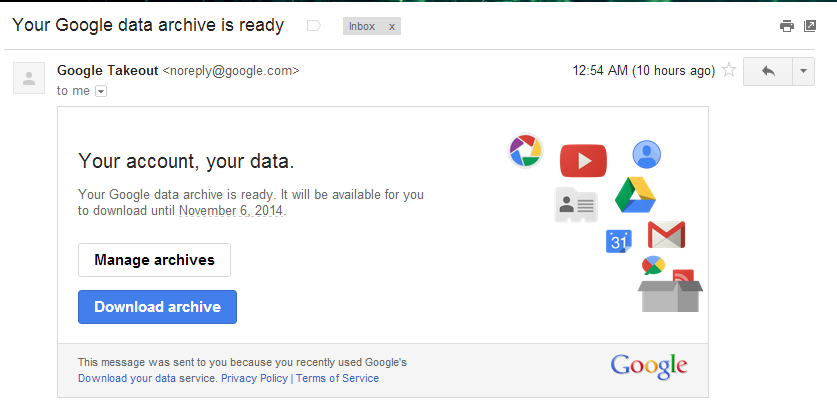 google mail download