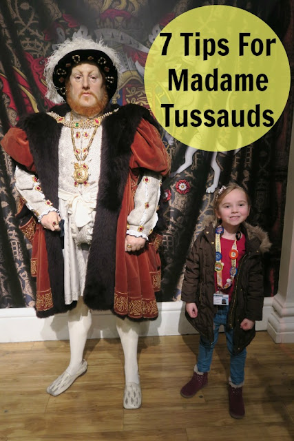 7 Tips For Taking Kids To Madame Tussauds