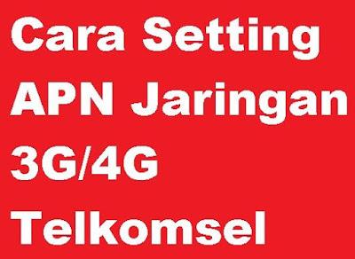 Bagi kamu yang mengalami kendala jaringan saat menghubungkan dengan koneksi internet Cara Setting APN Jaringan 3G/4G Telkomsel Terbaru di Android SmartPhone