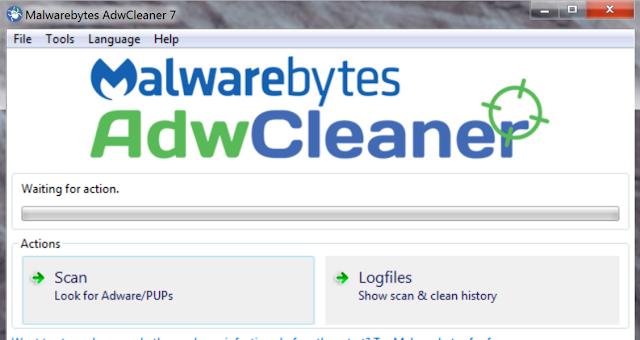 تحميل برنامج حذف البرامج الغير هامة مجانا AdwCleaner 7.0