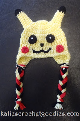 crochet pokemon hat