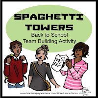 Back to School Team Building Activity Spaghetti Towers by Laura Torres