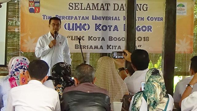 2019, Pemkot Bogor Targetkan UHC