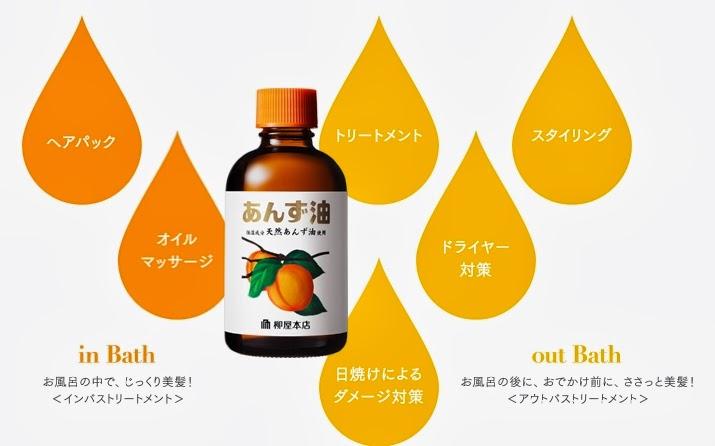 Willow shop apricot oi      Hair oil az