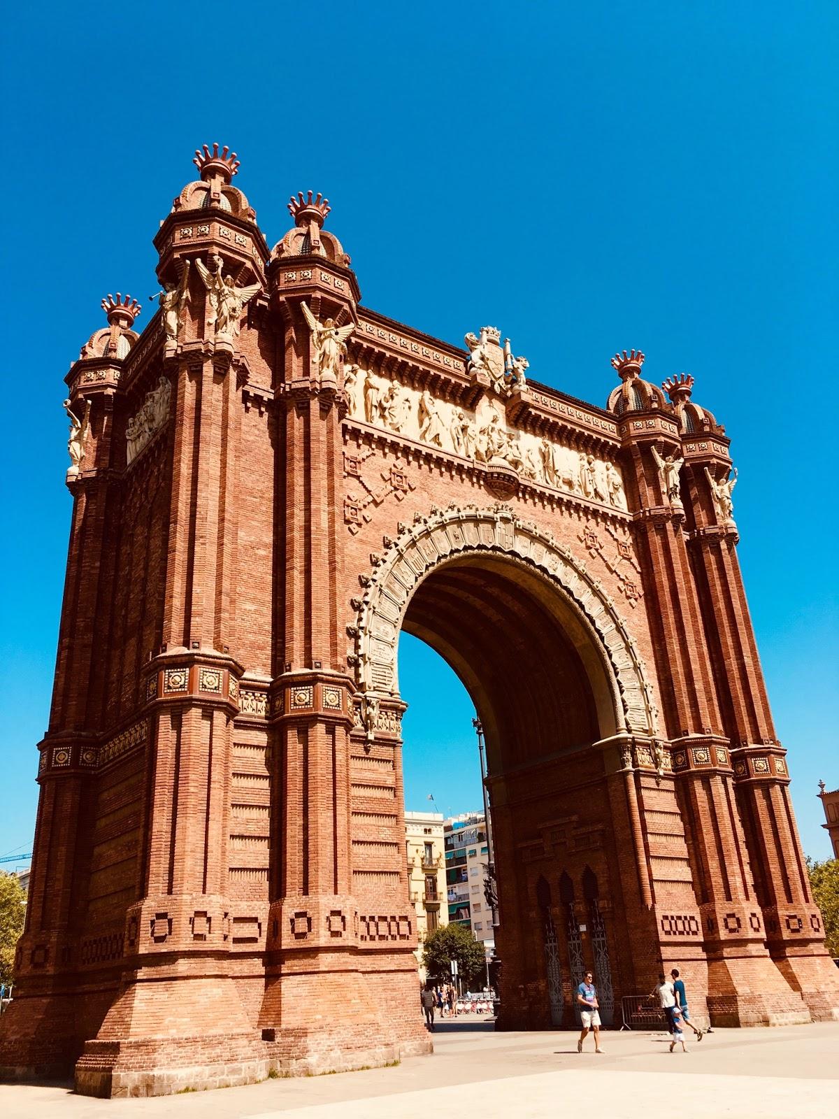 Arc de Triomph Barcelona