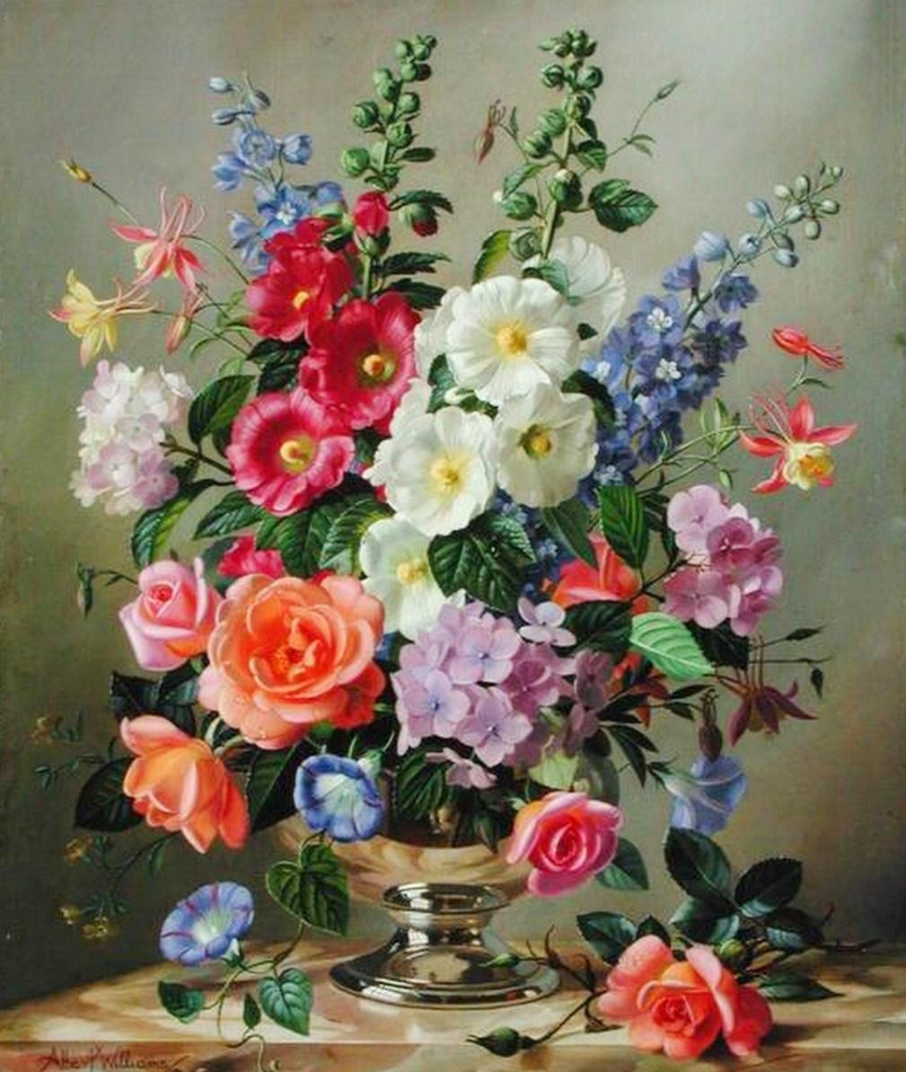Cuadros Modernos Pinturas Y Dibujos Flores Impresionismo