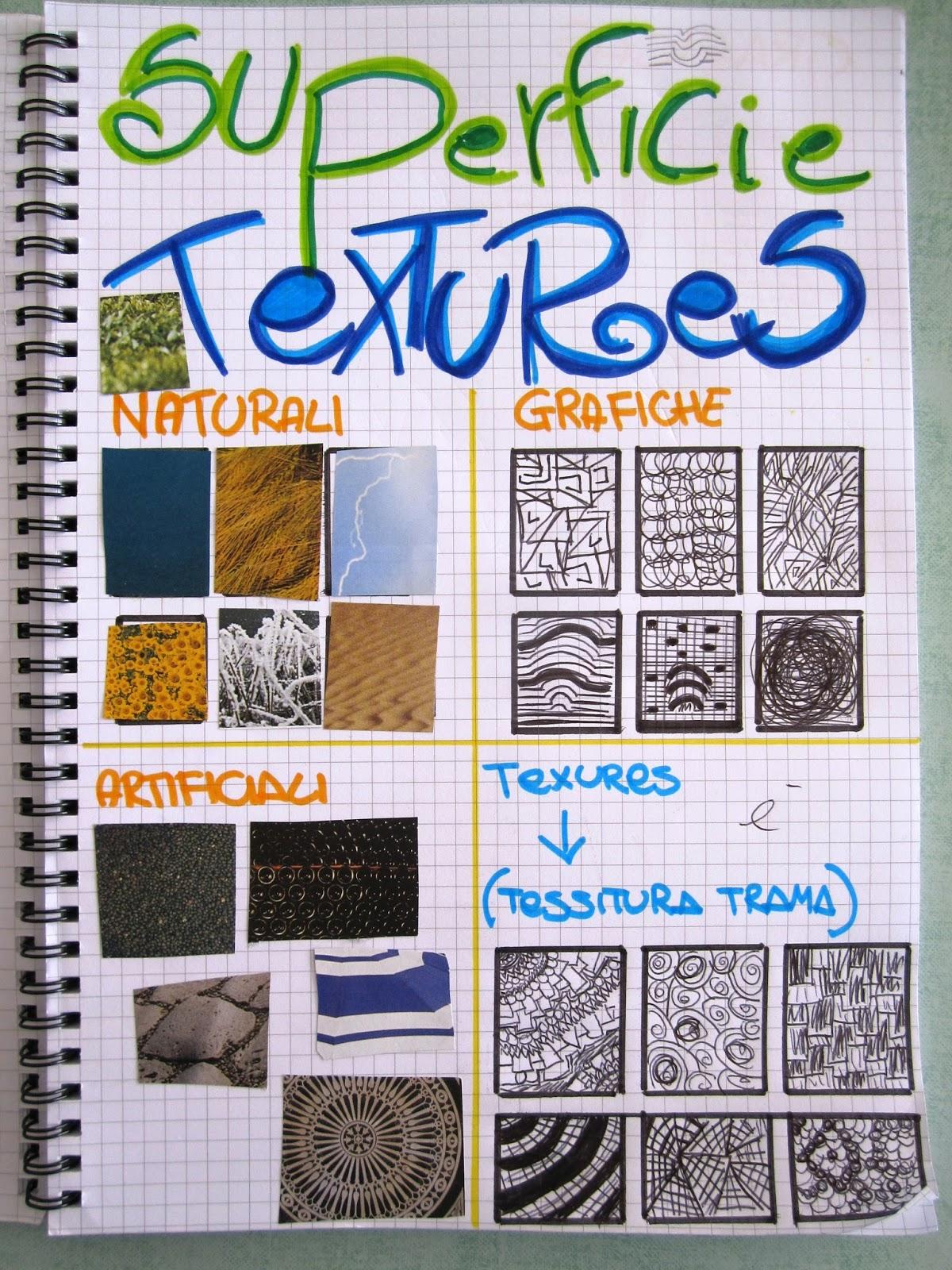Super immagin@rti: Textures exercise. Il quaderno di Arte. HV02