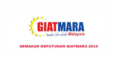 Semakan Keputusan GIATMARA 2019 Online (Januari & Julai)