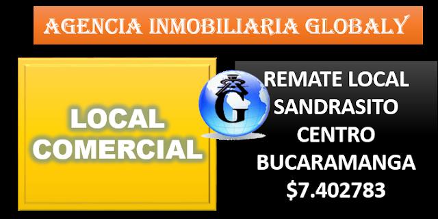 VENTA DE REMATE DE LOCAL EN EL CENTRO COMERCIAL SANANDRESITO DEL CENTRO DE BUCARAMANGA