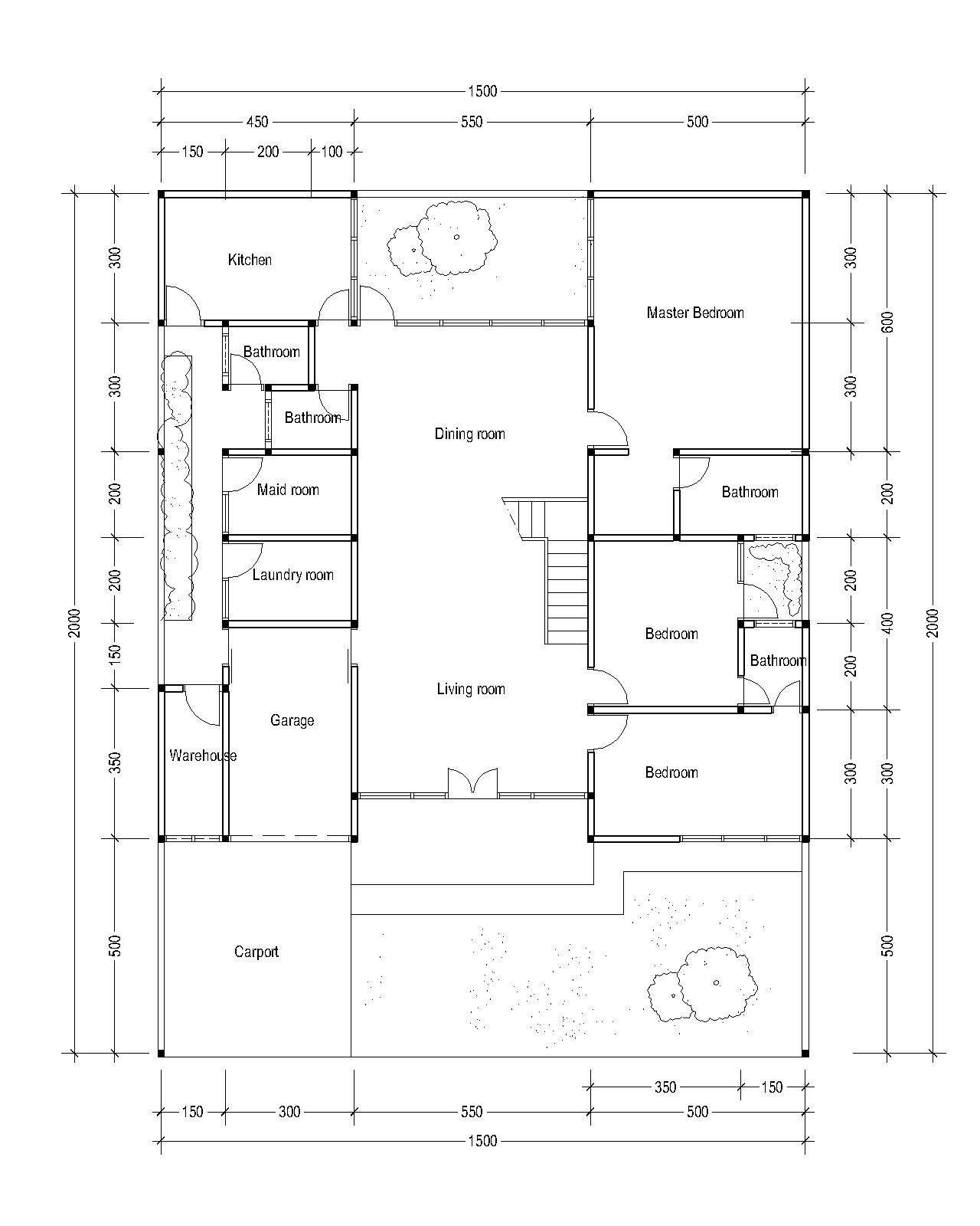1St Floor Plan For Plan C 26