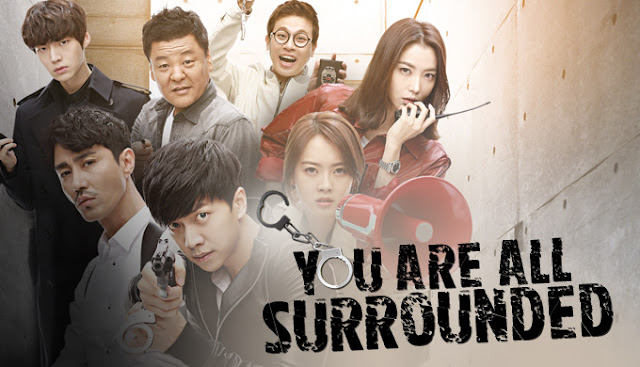 Drama Korea You Are All Surrounded Subtitle Indonesia