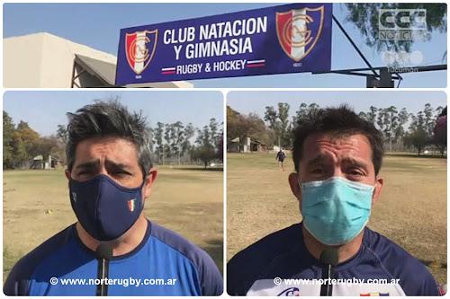 Pablo Bascary y Benjamín Martínez - Natación y Gimnasia