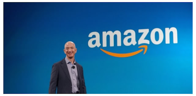 "Dono da Amazon.com ""dispara"" e vira o 3º homem mais rico do mundo."