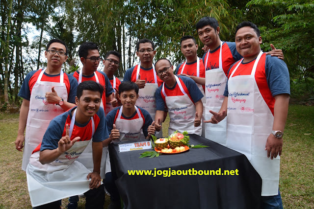 Jogja Outbound Cooking Competition