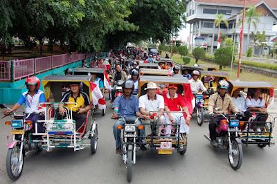 Becak Khas Aceh