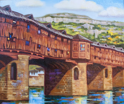 covered bridge Покрит мост Lovech