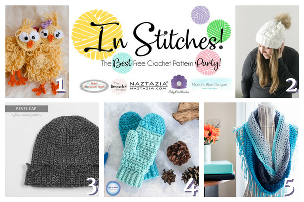 In Stitches Best Free Crochet Pattern Party Link Up Week 3