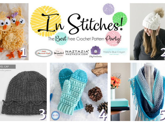 In Stitches - Best Free Crochet Pattern Party Link Up Week 3