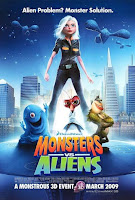 Monsters vs Aliens 2009 720p Hindi BRRip Dual Audio Full Movie
