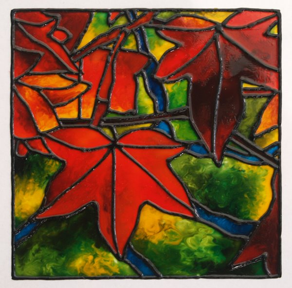 Imagination Painting: Glass Painting
