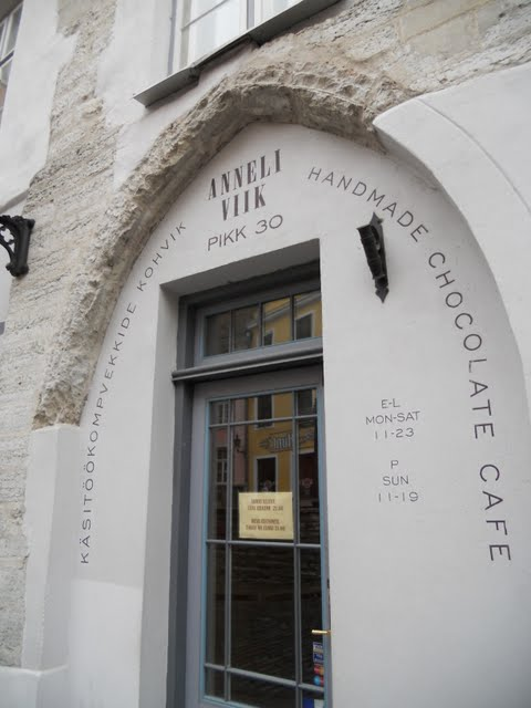 Anneli Viik Chocolate Shop in Tallinn, Estonia