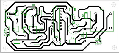 PCB layout design for over and under voltage cut off circuit