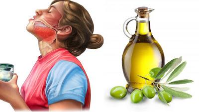 ماذا يحدث في الجسم عند ضع زيت الزيتون في الفم لمدة 5 دقائق !